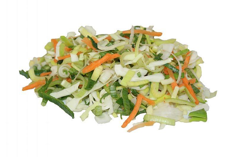 Bami Nasi groente per 500 gram