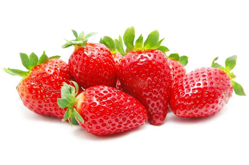 Aardbeien geschoond per kilo