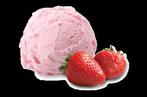Aardbeien Premium roomijs 2,5 liter Lokaal product