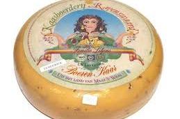Ravenswaard komijn kaas per stuk 4 -5.5 kilo prijs p kilo